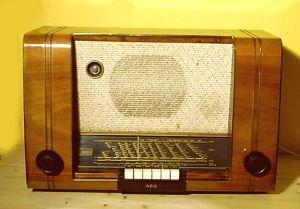 AEG 62 WU Röhrenradio, Radio