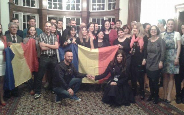 """VIDEO FOTO Paula şi Ovi, prima repetiţie la #Eurovision2014: """"România va câştiga"""""""