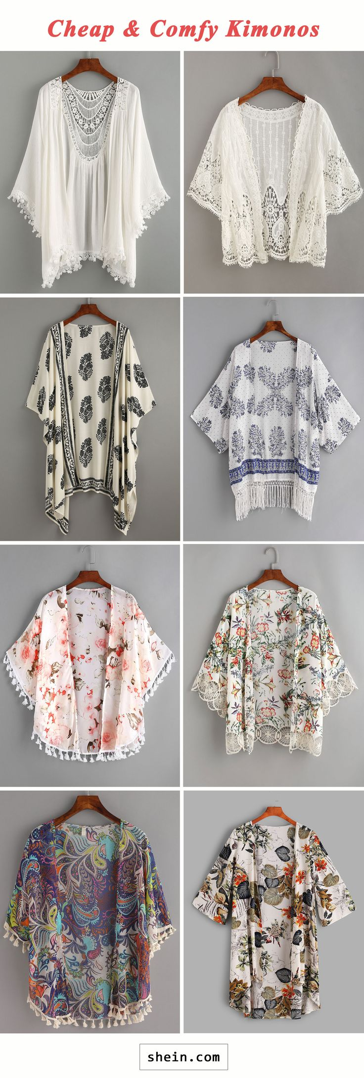 Cheap & comfy kimonos