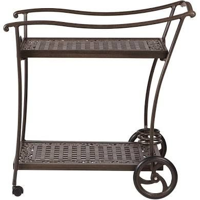 Home Decorators Collection Madrid Bronze Patio Serving Trolley