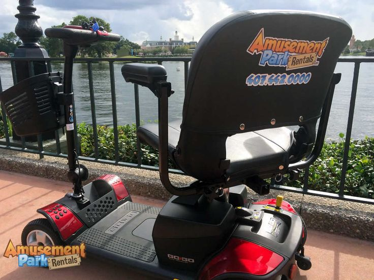 Tips on renting the best electric scooter for you while visiting the Orlando area theme parks - Walt Disney World, Universal Studios, Sea World ...