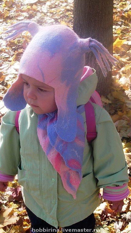 """Одежда для девочек, ручной работы. Ярмарка Мастеров - ручная работа шапочка """"Озорная куколка"""". Handmade."""