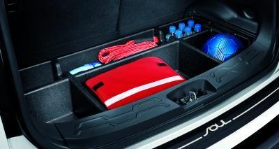 Kia Soul Cargo Organizer G080 With Lid Makes A Level
