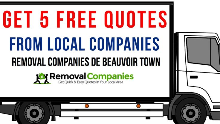 Removal Companies De Beauvoir Town - N1  - Get Your Free Quote Today
