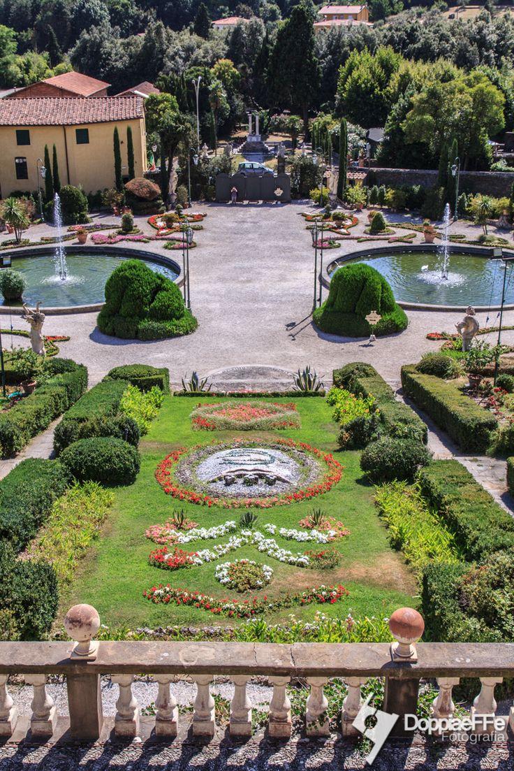 Panoramica della villa garzoni - Collodi (LU)