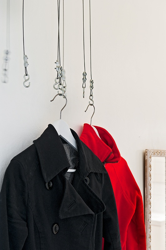 coat hangers - for small spaces?