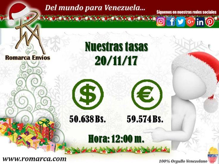 📊Romarca te ofrece a las 12:00m 🕙 hora Este #Usa🔛#Venezuela las mejores tasas de cambio. 📨Queremos recordarte que nuestra invitación es para que nos dejes saber tus opiniones en nuestro sitio web.  #Viena #Suiza #Montenegro #Bielorusia #España #Chile #Venezuela #Dolar #Euro #VenezolanosEnElMundo