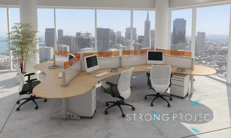 Modern Office Furniture Systems Amusing Inspiration