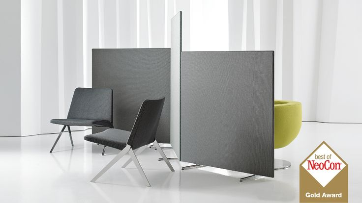 Lite Wall™ is a series of lightweight screens that respond to varying needs of the open office, quickly configuring to provide privacy or space delineation where needed. Designed using concealed magnets, Lite Wall easily repositions without visible connections. The screens can also be used as standalone elements with the use of integrated legs. Heights of 48, 51 and 66 inches accommodate standing, sitting and lounge applications, with a standard width of 48 inches.