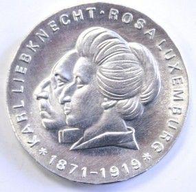 20 Mark DDR Rosa Luxemburg