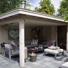 Afbeeldingsresultaat voor overkapping voor kleine tuin huiskamer pinterest huiskamer tuin - Deco tuinhuis ...