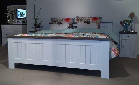 Maxfurn Roger ledikant 180x210cm.,kast,commode,ladenkast 180 x210 cm. kleur hout, sepia,mont blanc,wit, anthracite,slaapkenner theo bot