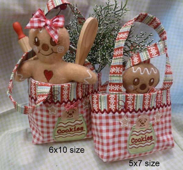 Gingerbread Combo Set - Omas Place | OregonPatchWorks