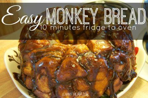 Easy Monkey Bread cover