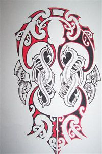 Maori graphics from Mathew Thatcher Tauranga Moana