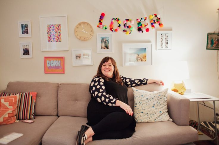 Aidy Bryant in her apartment, February 2014