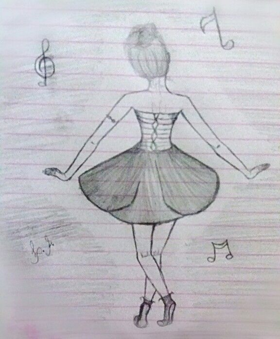 Desenhos a lápis  #Girls #Bailarine #Models