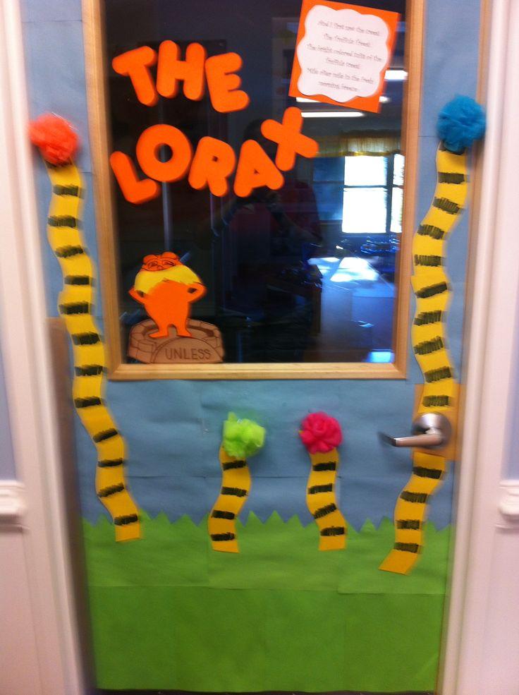 Lorax Classroom Decor ~ Lorax themed classroom term pinterest