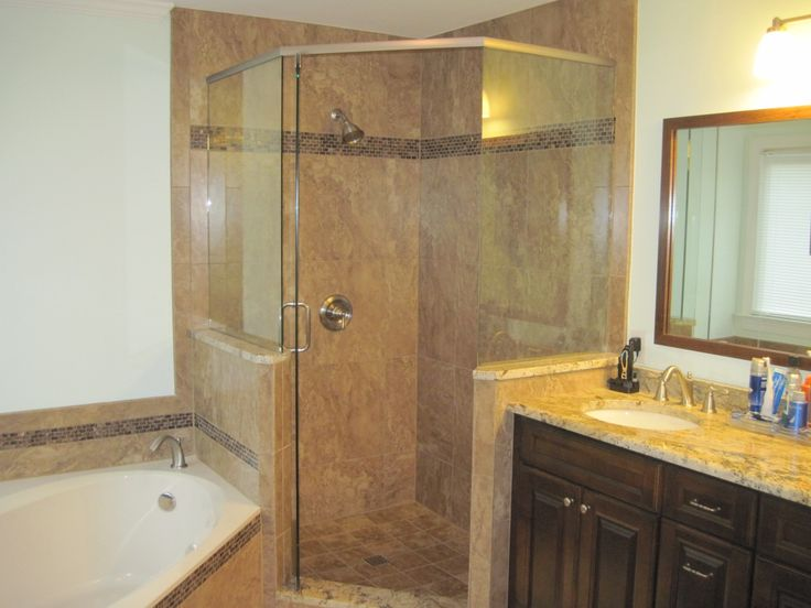 Innovative Use Of Space In This Myers Park NC Bathroom Remodel