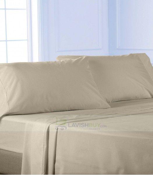 Silver Grey Twin XL Egyptian Cotton Sheet Set 1000TC