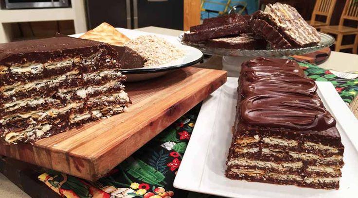 Turr�n de avena, chocolate y leche condensada