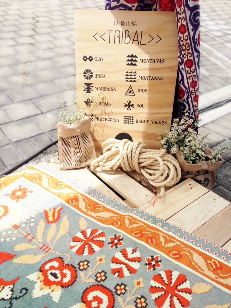 Our printed drapes and rugs create a magical ethnic atmosphere! By ESTAMPAMOS