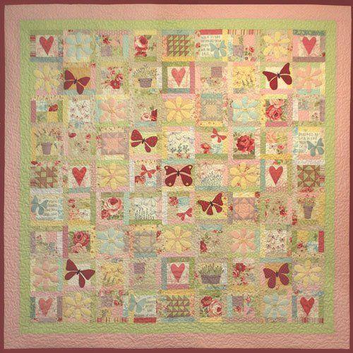 """""""Butterfly Garden"""" designed by Leanne Beasley for Leanne's House."""
