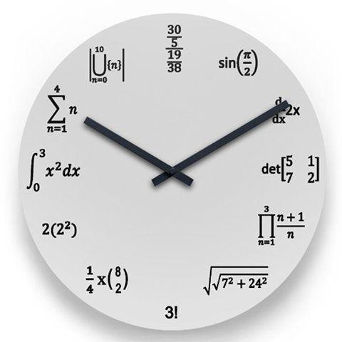 誰だ、こんなめんどくさい、わかりにくい、おもしろい時計の文字盤考えたの。数学好きがますます増え、数学嫌いもますます増える。 pic.twitter.com/TaYRVTn8gp