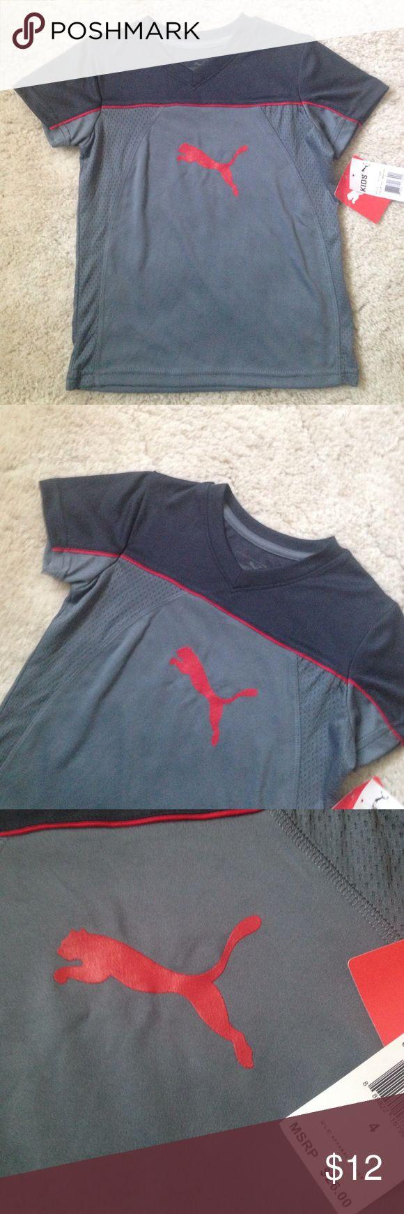 Puma shirt Puma shirt. Brand new with tag Puma Shirts & Tops Tees - Short Sleeve