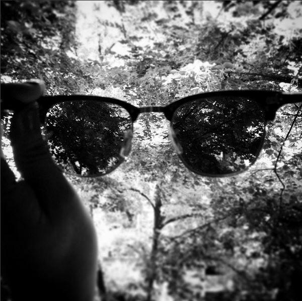 #sunglasses #rayban #clubmaster #bw #blackandwhite