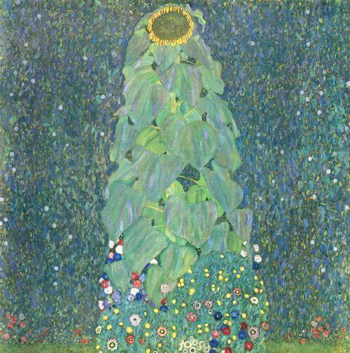Klimt Gustav Die Sonnenblume Sonnenblumen Malerei Kunstdruck Und Klimt