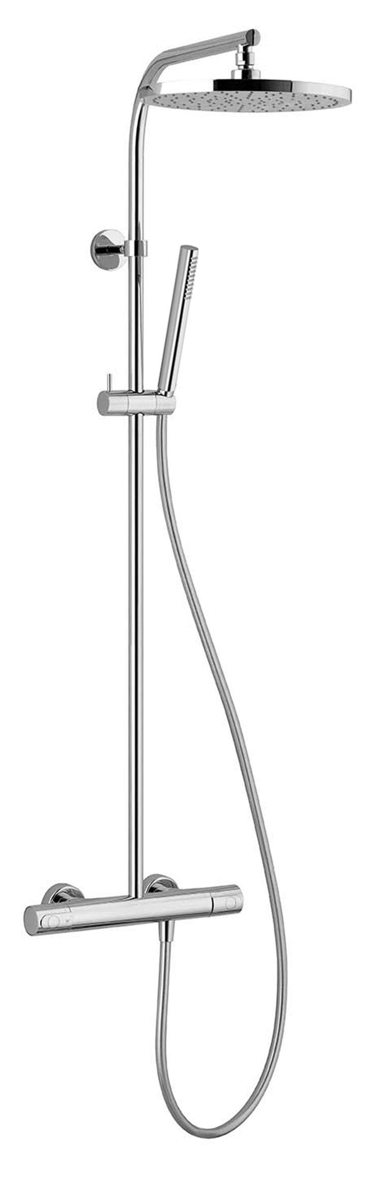 #Fantini #Lamè Aufputz-Thermostatbrausemischer 8092 | im Angebot auf #bad39.de 828 Euro/Stk. | #Armaturen #Modern #Bad #Badezimmer #Einrichtung #Ideen #Italien