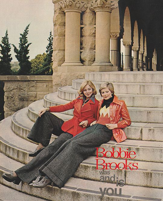 BobbieBrooks Was And Is You 1973 70s FashionFashion VintageSeventeen