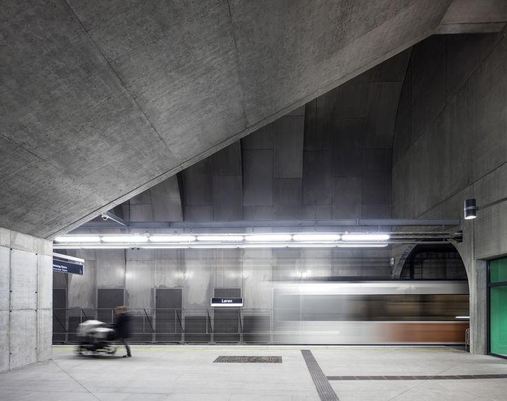 Gallery of Løren Metro Station / Arne Henriksen Arkitekter + MDH Arkitekter - 1