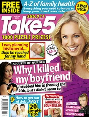 Take 5 - 22 May 2014 #magazines #magsmoveme  http://www.take5mag.com.au/