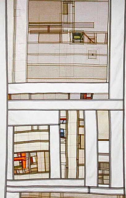 pojagi by Helen Wogan   detail: Female Bauhaus   Berlin, Germany   c. 2010   via Flickr with several related images in the same stream