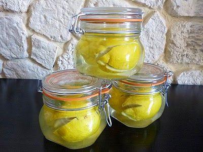 La recette des citrons confits au sel #recette #recipe