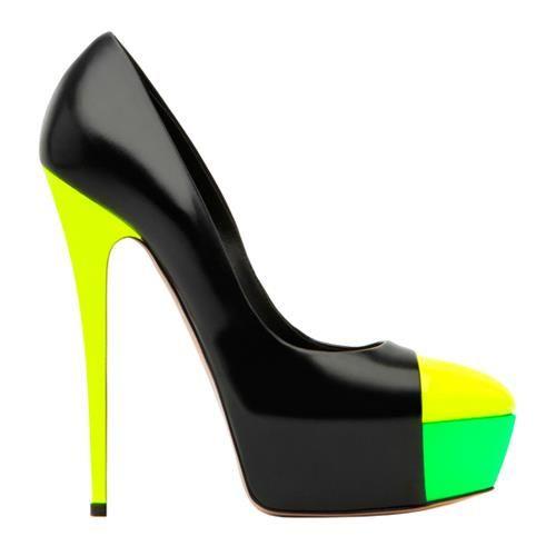 Цветные туфли фото