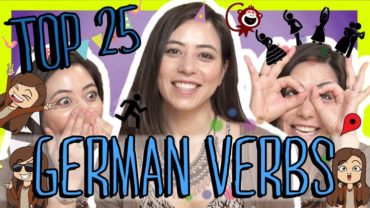 Learn the Top 25 Must-Know German Verbs
