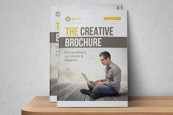 The Creative Brochure by FathurFateh on @creativemarket