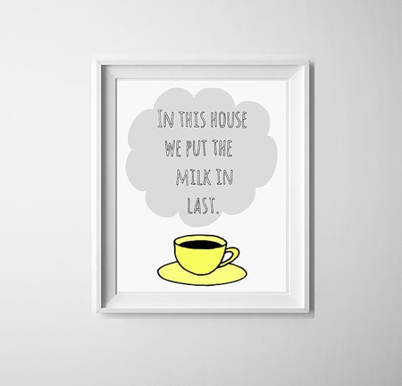 This print, which lays down the law. | 19 Gifts Every Tea Lover Will Want To Own