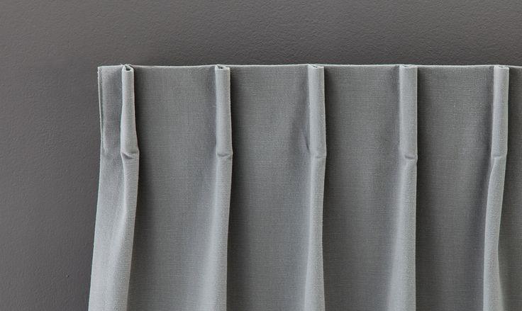 Personnalisez vos rideaux et voilages dans les moindres détails avec nos têtes de rideaux et voilages sur-mesure Heytens