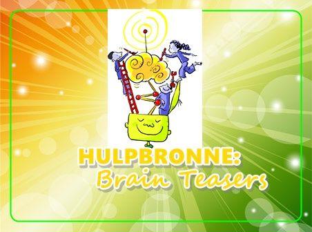 Hulpbronne - Brain teasers 2