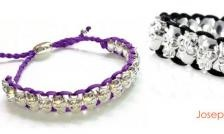 $21 for a Joseph Nogucci Silver Skull Friendship Bracelet - Shipping and Tax Included ($ 109 Value)