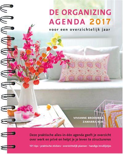 De Organizing agenda 2017 - Deze praktische alles-in-één agenda geeft je overzicht over werk en privé en helpt je je leven te structureren. € 14,95