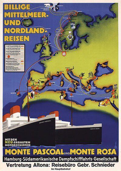 Billige Mittelmeerreisen und Nordlandreisen