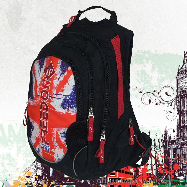 Рюкзак 29957-2 молодежный, размеры 30*18*44 см 2500 руб #сумки #рюкзак #учеба #школа