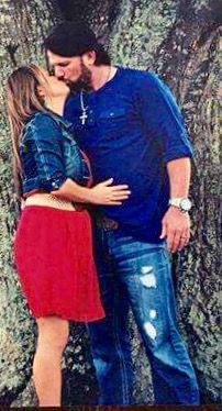 AJ styles and his wife