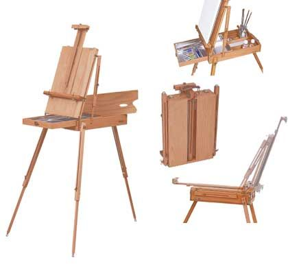 M s de 25 ideas incre bles sobre caballete de pintura en - Caballetes de madera ...