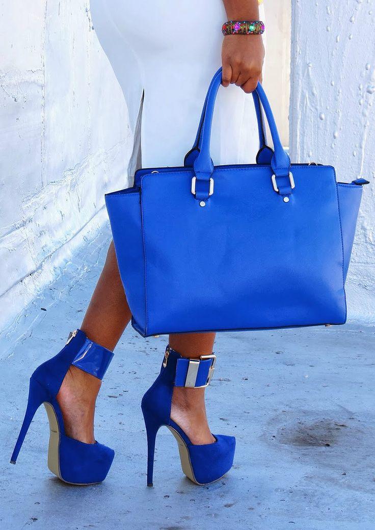 awesome Эффектные и модные синие туфли (50 фото) — С чем носить в 2017?